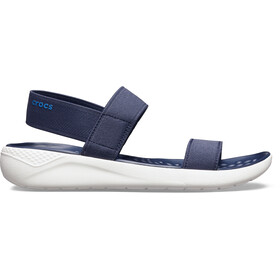 Crocs LiteRide Sandals Damen navy/white